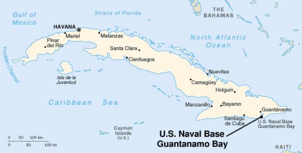 EEUU descarta devolver a Cuba la base de Guantánamo1