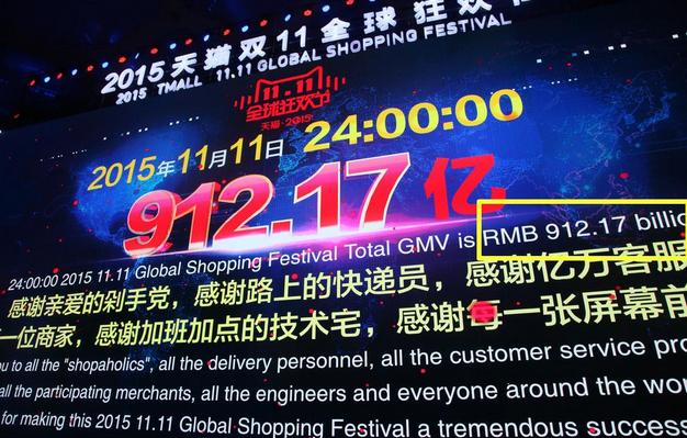 China inicia fiesta de compras en línea con nuevo récord