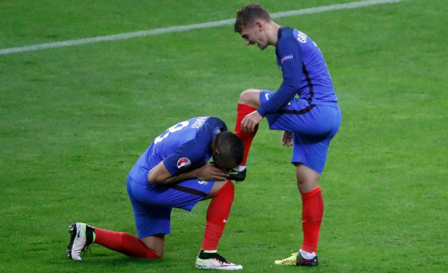 El partido en fotos: Francia - Islandia 5-2