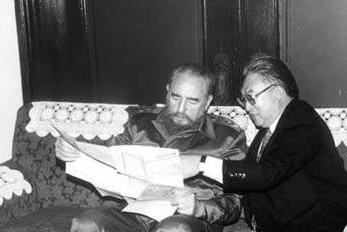 El exembajador chino en Cuba recuerda a Fidel Castro