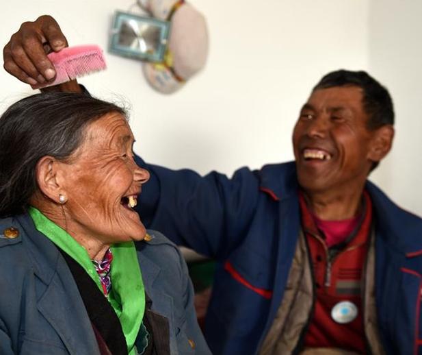Tíbet: Asilos para ancianos en Shannan