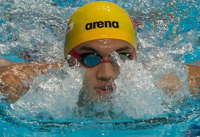 Natación: Xu Jiayu gana primer oro de espalda masculino de China en mundial