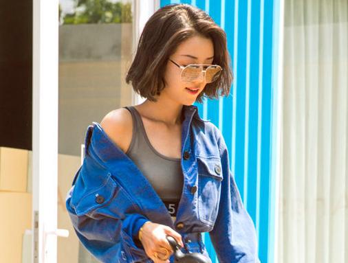 Actriz Li Xirui posa para Grazia con su mascota