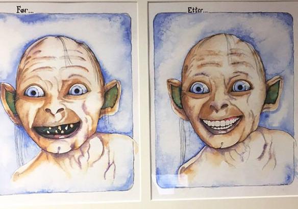 Dentistas con un sentido de humor impresionante