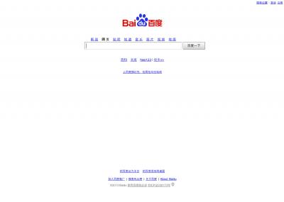Top 20 most popular websites around the world by China.org.cn - Baidu.com