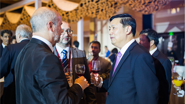 Reception for guests to seminar on Belt and Road
