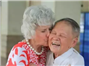 A thank-you kiss comes 71 years late