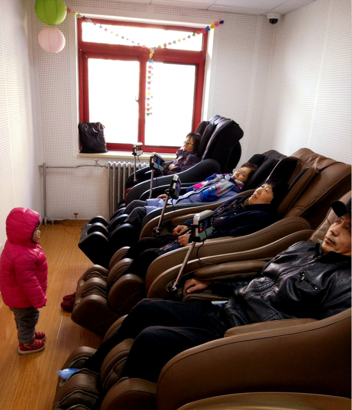 The lounging room in a 'post-house' nursing home. (Photo: CHJ-Care's Sina blog)