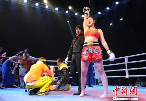 中国第一美女拳王沈舒不负国人众望
