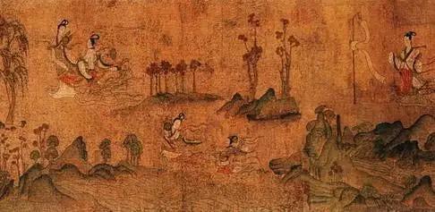 画极大地丰富了祖国的艺术宝库,是留给世界人民的宝贵遗产.以下