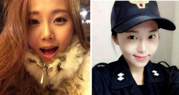 韩国最美女警察走红 肤白貌美大长腿 网友 有冲动的感觉