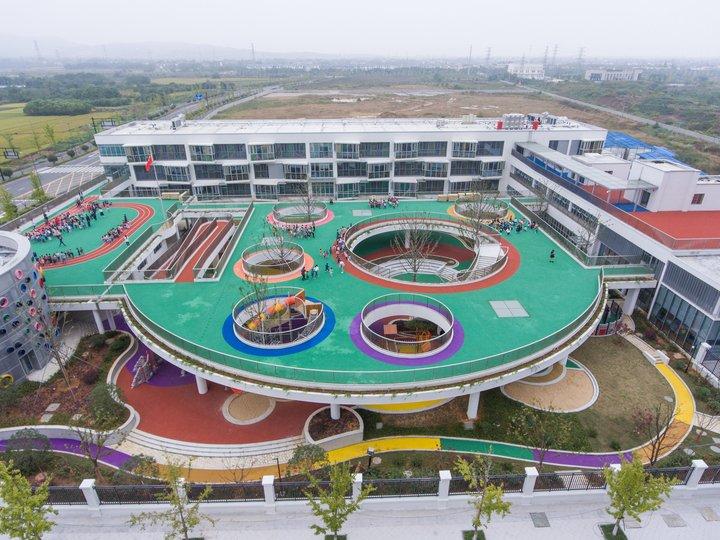 浙江幼儿园屋顶建跑道