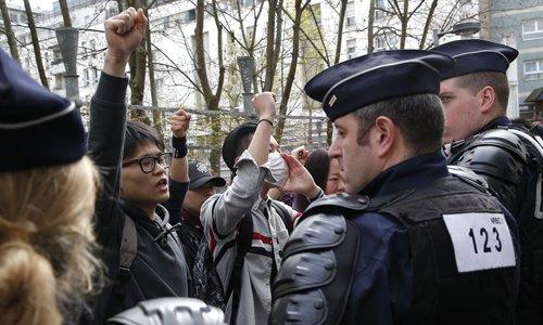 Arrestations à Paris après un rassemblement commémoratif pour un ressortissant chinois abattu par la police