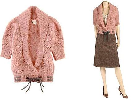 组图:针织衫搭配出精彩美丽春天