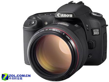 图为:佳能数码相机 EOS 30D-佳能单反30D中国售价公布