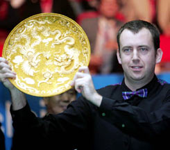 The 2006 World Snooker Star Dragon Woods Villa Cup China Open Tournament Was Concluded In Beijing Yesterday Evening When No9 Mark Williams Of UK