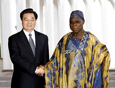 Obasanjo Jintao