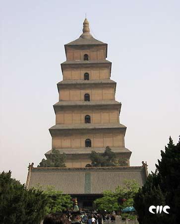 西安大雁塔(组图)
