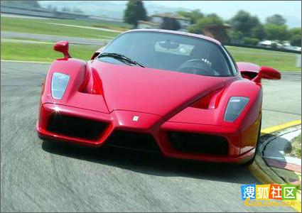 汽车——那就是速度!法拉力力求不管在弯道还是在直道上都成高清图片