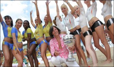 德国美女艳冠性感世界杯图
