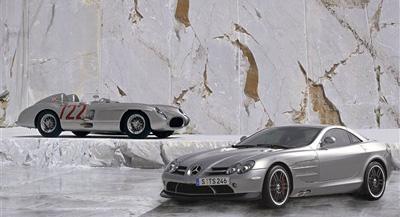 奔驰slr 722 edition和奔驰300 slr高清图片