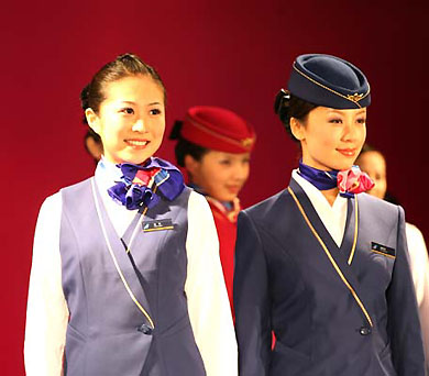 le nouvel uniforme des h tesses de l 39 air de china southern. Black Bedroom Furniture Sets. Home Design Ideas