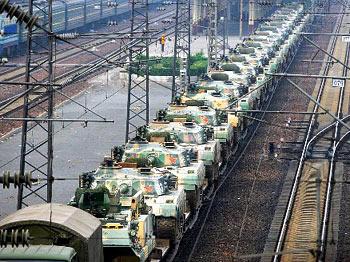 China inicia exercícios de segurança em larga escala