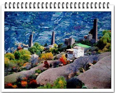 دانـــبــا أجمل قرية الصين