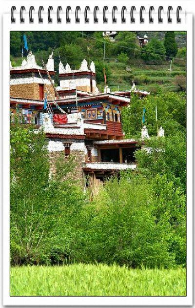 دانـــبــا أجمل قرية في الصين