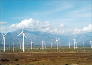 Windpark in China