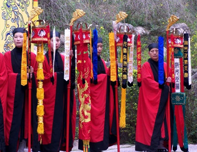 Main Taoist Festivals -- china.