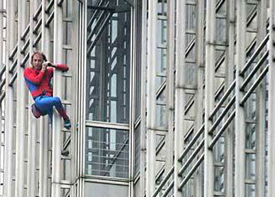 French Spider Man Caught In Police Web China Org Cn