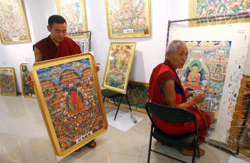 Thangka Seeks New Lease of Life -- china.org