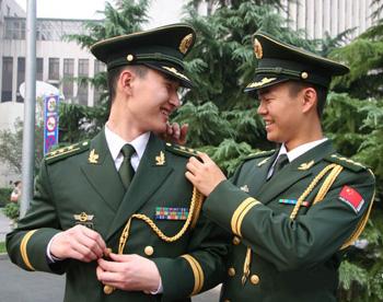 china military uniforms