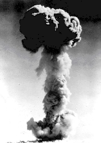 Radiometric dating atom bomb explosion
