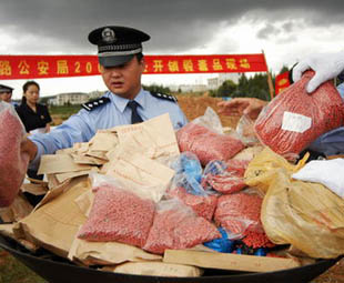 illegal drug trade in china Meanwhile, the criminal justice system is trying to stop illegal drug production  and trafficking official data show that courts across the country.