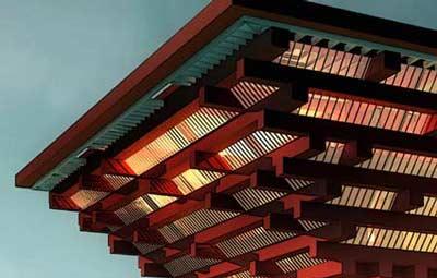 China Unveils Grand Pavilion At 2010 World Expo China
