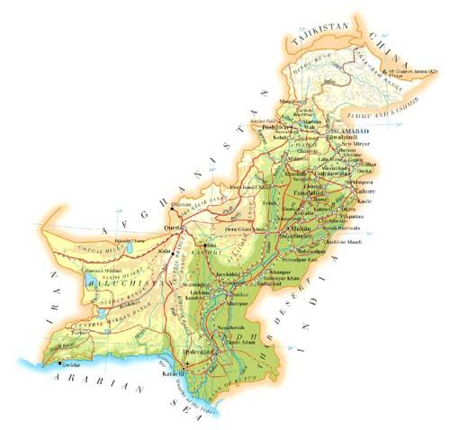 巴基斯坦 英文全称