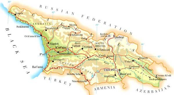 官方语言为格鲁吉亚语,居民多