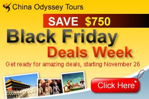 China tours for Black Friday deals
