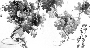 """""""三驾马车""""的字和画(图) - 中华网络书法家协会 - 中华网络书法家协会的博客"""