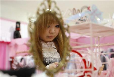深受日本少女喜爱的洛丽塔风格