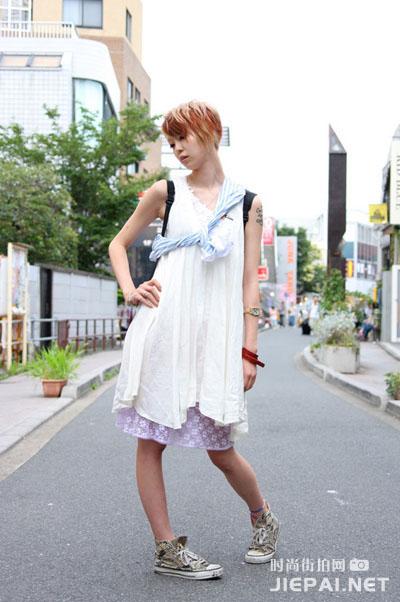 东京街头潮流街拍