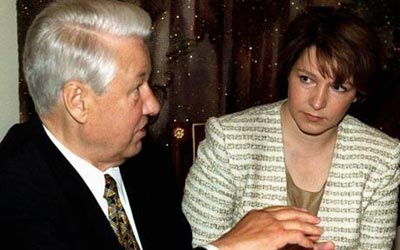 叶利钦女儿披露 接班 内幕 普京硬汉形象大受影响