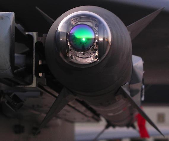 AIM-9X空空导弹导引头特写-美升级 响尾蛇 导弹