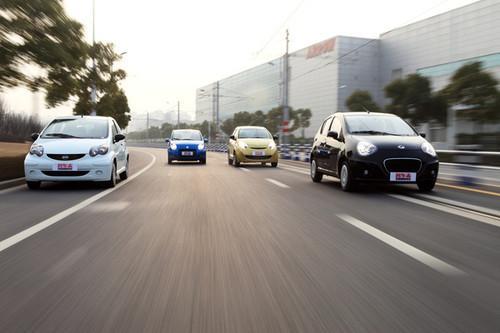 谁将是下一款国民车 试驾四款当红小车高清图片