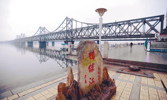 新鸭绿江大桥选址丹东国门湾 工程有望今年开工图片