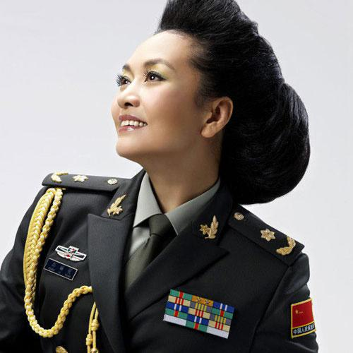 彭丽媛少将:总政歌舞团第一批国家一级演员-军队里的明星 谁的军衔
