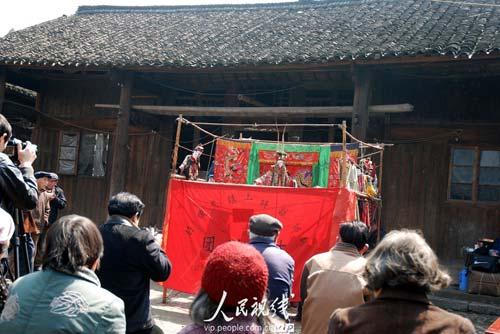 古老的湖南木偶戏 (2)