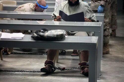 实拍关塔那摩监狱的生活 2